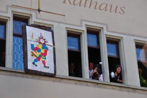Eis-zwei-Geissebei (2012) - Rathaus Rapperswil - Hauptplatz 2012-02-21 15-14-18